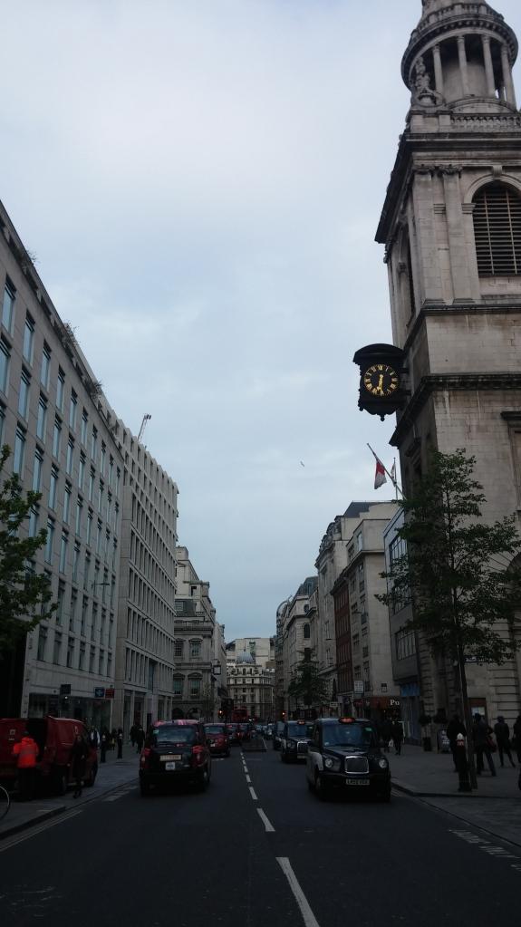 Photo of a Georgian street in London