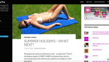 Summer Holidays article